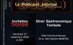 Ce soir, premier rendez-vous avec le Podcast Journal