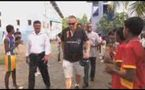 CRICKET LEGEND SIR IAN BOTHAM RETURNS TO GALLE TO MARK 5TH ANNIVERARY OF TSUNAMI DISASTER