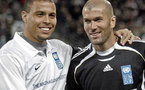 Ronaldo and Zidane Form Team