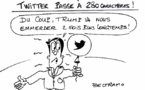 Twitter doublement bavard