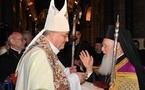 Le Prix de la Fondation Cardinal Poupard remis au Patriarche Œcuménique Bartholomée Ier
