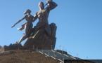 L'IMAGE DU JOUR: Le monument de la Renaissance africaine