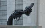 IMAGE DU JOUR: La sculpture Non-violence