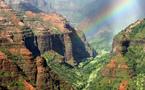 L'IMAGE DU JOUR: Waimea canyon sous l'arc-en-ciel