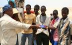 Le Haut Commissariat de l'ONU pour les réfugiés à Saada