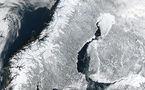 L'IMAGE DU JOUR: La péninsule scandinave vue de l'Espace