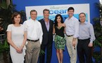 La Fondation Prince Albert II de Monaco - USA participe a la premiere d'Oceans a Hollywood
