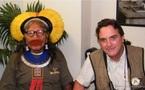 Le chef indien Raoni veut empêcher la destruction des forêts amazoniennes