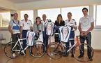 FIGHT AIDS MONACO: Les Carabiniers cyclistes porteront le logo de l'association de la Princesse Stéphanie
