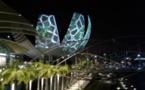 Singapour: vision d'une ville futuriste