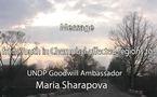 PNUD - Maria Sharapova au Bélarus auprès des jeunes touchés par la catastrophe de Tchernobyl