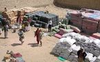 Les déplacés par les combats confrontées à de terribles intempéries