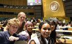 Lancement de l'Année internationale de la jeunesse