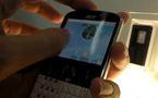 Un smartphone dédié à l'écriture des messages