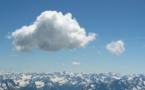 IMAGE DU JOUR: Nuage sur les Alpes de Lechtal