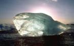 IMAGE DU JOUR: Bloc de glace naturelle