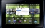 BlackBerry PlayBook annonce son entrée sur le marché des tablettes