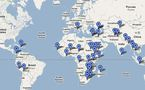 Lancement sur internet de la première Carte mondiale des stocks d'urgence