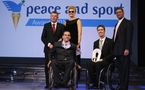 Wheelchair Rugby Exhibition Match Rumble in Cartagena Wins 2010 Sports Event for Peace Award