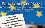 Prix Lorenzo Natali 2010, les lauréats