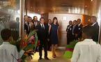 Visite présidentielle aux Antilles