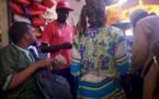 Les commerçants rabatteurs au marché de Madina