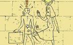 DESSIN DE PRESSE: Fabuleuse découverte en Egypte