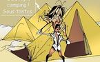DESSIN DE PRESSE: Vacances pharaoniennes