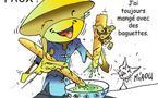 DESSIN DE PRESSE: Hausse du prix du blé