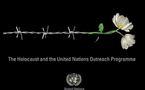 Cérémonie aux Nations Unies en l'Honneur de millions de victimes de l'Holocauste