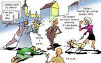 DESSIN DE PRESSE: La prière dans la rue ?