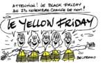 Vendredi noir... en jaune