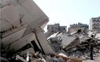 Exercice de séisme au Liban