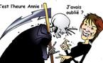 DESSIN DE PRESSE: Annie Girardot, déjà un souvenir !
