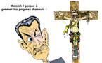DESSIN DE PRESSE: Le martyre pour Sarkozy !