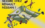 DESSIN DE PRESSE: Une réplique dans l'affaire Renault fait deux nouvelles victimes