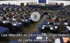 Statut et financement des partis politiques au niveau européen