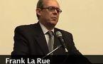 Frank La Rue se rend en Algérie au sujet de la liberté d'opinion
