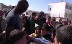 Lilian Thuram avec les enfants palestiniens