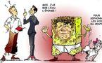 DESSIN DE PRESSE - Obama craint Bob l'éponge