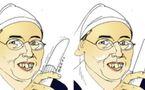 DESSIN DE PRESSE - Avant et après le miracle de Jean-Paul II