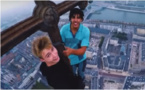 Urban climbing: surtout, ne regardez pas en bas!