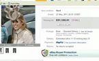 130.000 DOLLARS RÉCOLTÉS GRÂCE À LA VENTE D'UN CHAPEAU DE PRINCESSE