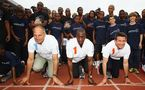 Olympic legends Sebastian Coe, Michael Johnson and Steve Redgrave launch new Laureus project