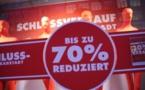 Les soldes d'hiver débutent le 28 janvier 2019 en Allemagne