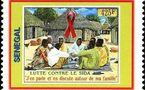 30 ANS DU VIH/SIDA - Les orphelins aidés par l'ONU et des timbres pour sensibiliser à travers le monde