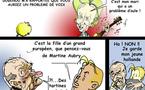DESSIN DE PRESSE: Les Chirac font les guignols