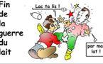 DESSIN DE PRESSE - Lactalis remporte la bataille pour le contrôle de Parmalat