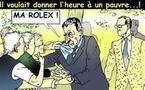 DESSIN DE PRESSE - Agression sauvage contre le président de la République française