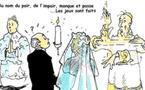 DESSIN DE PRESSE - Mariage princier à Monaco